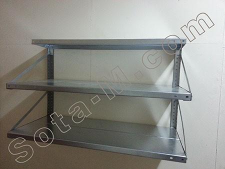 Настенные металлические стеллажи для гаража купить плитку на пол гаража