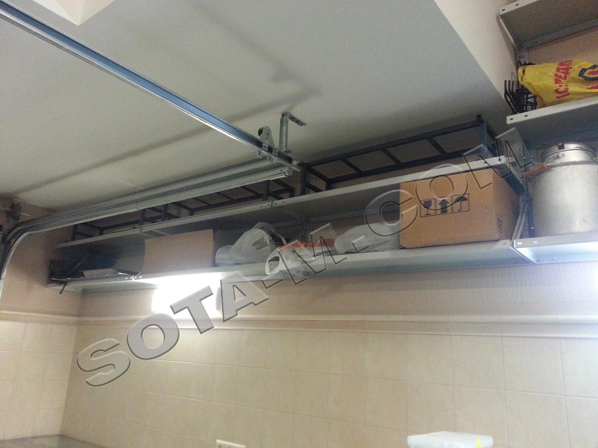 Подвесные стеллажи для гаража купить купить гараж в ногинске гск фермер