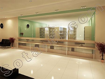 #Заказать мебель в регистратуру в Москве недорого