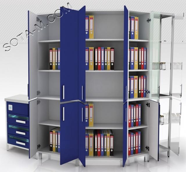 #Архивные шкафы для поликлиники